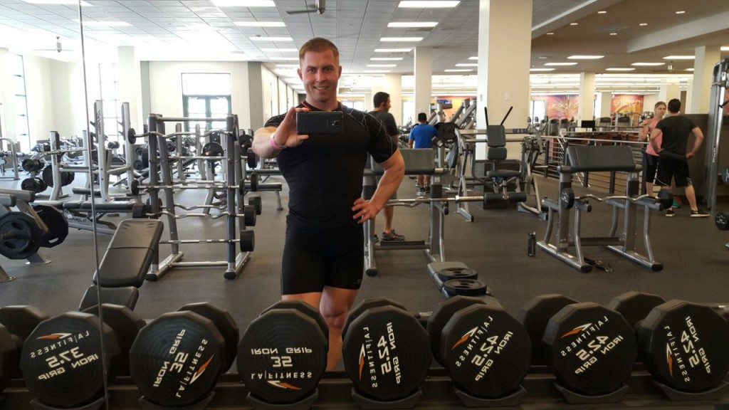 Дмитрий Кононов в LA Fitness West Palm Beach